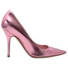 Dior Pink Metallic Pumps - Size 36