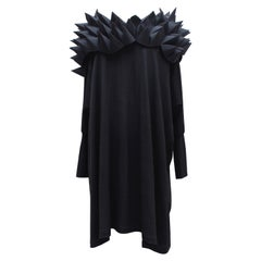 Junya Watanabe – Comme des Garçons spectacular black dress with picots