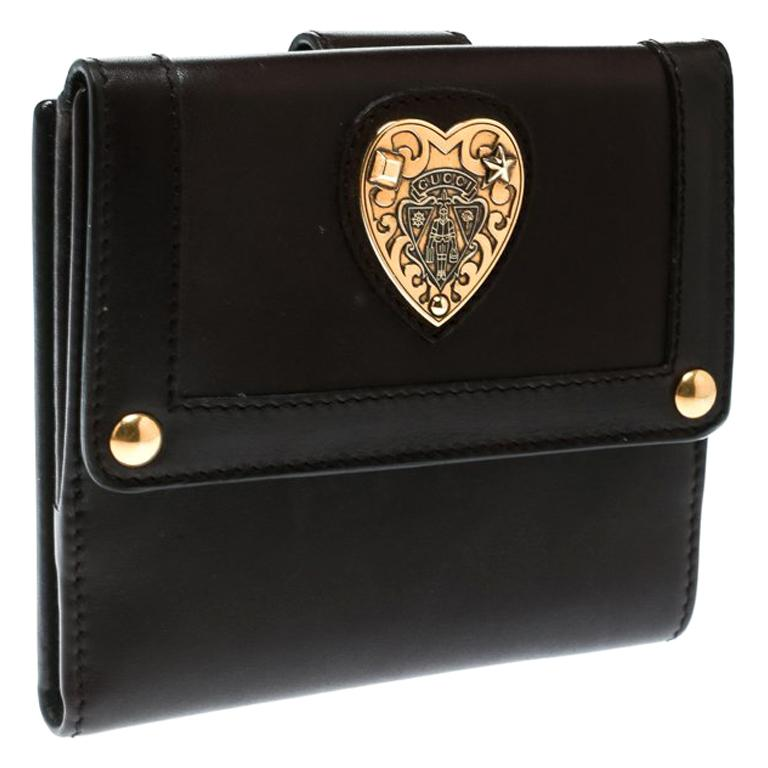 bbf2d47ec61 Gucci Brown Leather Babouska Wallet For Sale at 1stdibs