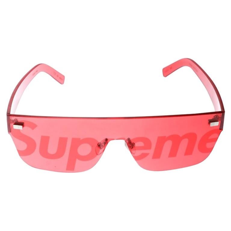 eb8903eb9479c Louis Vuitton x Supreme Red Z0985U City Mask Shield Sunglasses For Sale