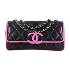 d9ce2c685d87c1 Chanel Divine Flap Bag Quilted Lambskin Medium