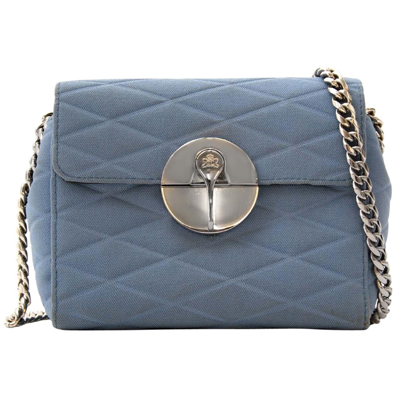 Lebeau-Courally Blue Mini Schoulderbag