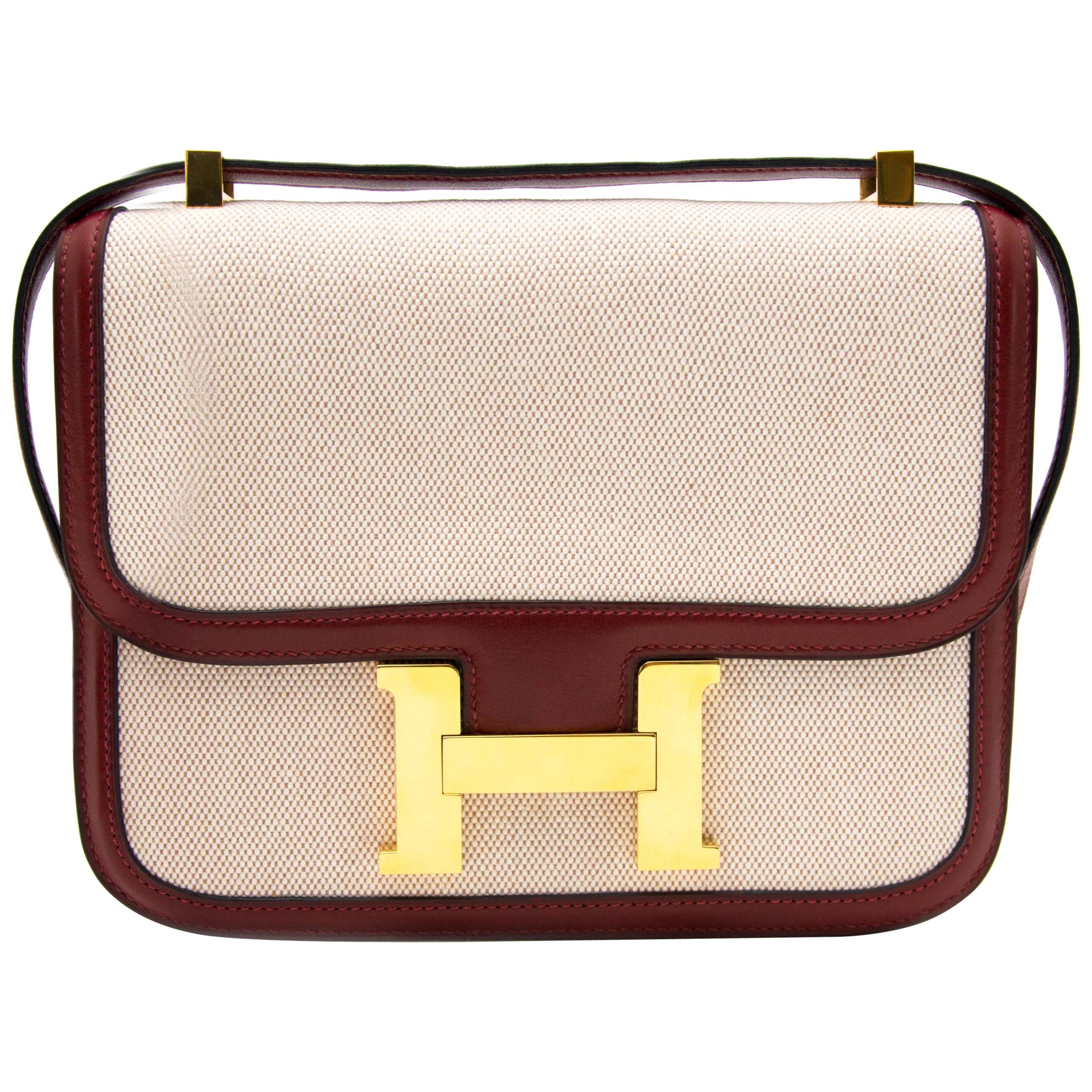 b09126d9c390 Hermès Lizard Constance Micro Bag Blanc Casse at 1stdibs