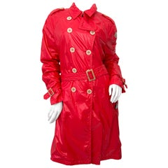Moncler Red Raincoat