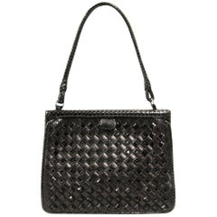 2000 Bottega Veneta Black Leather Purse