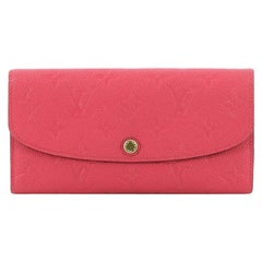 Louis Vuitton Emilie Wallet Monogram Empreinte Leather