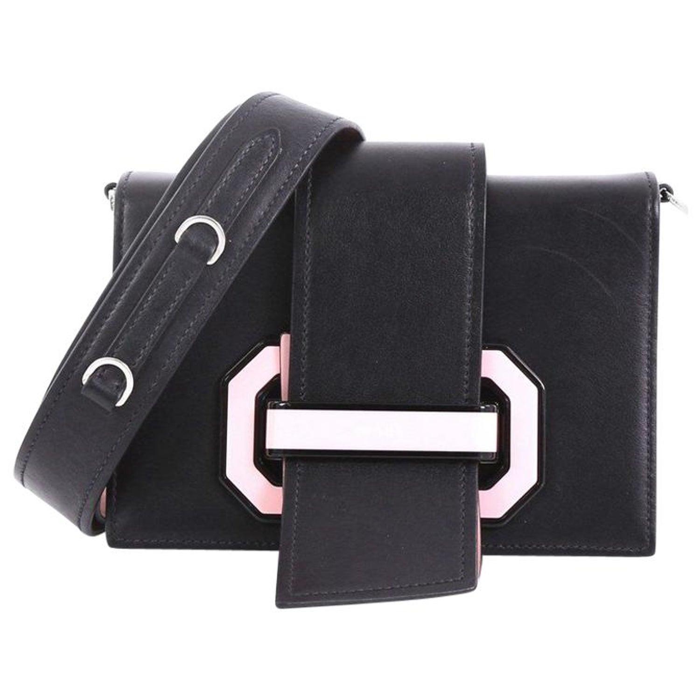 8cecc80b9abdec Prada Plex Ribbon Shoulder Bag City Calfskin Small at 1stdibs