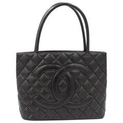 Chanel Black Caviar Tote Bag