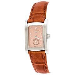 Longines Bronze Stainless Steel Dolce Vita L4.155.4 Women's Wristwatch 20 mm