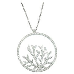 Piaget Limelight Paradise Tropical Seas Coral Inspiration Diamond 18k White Gold