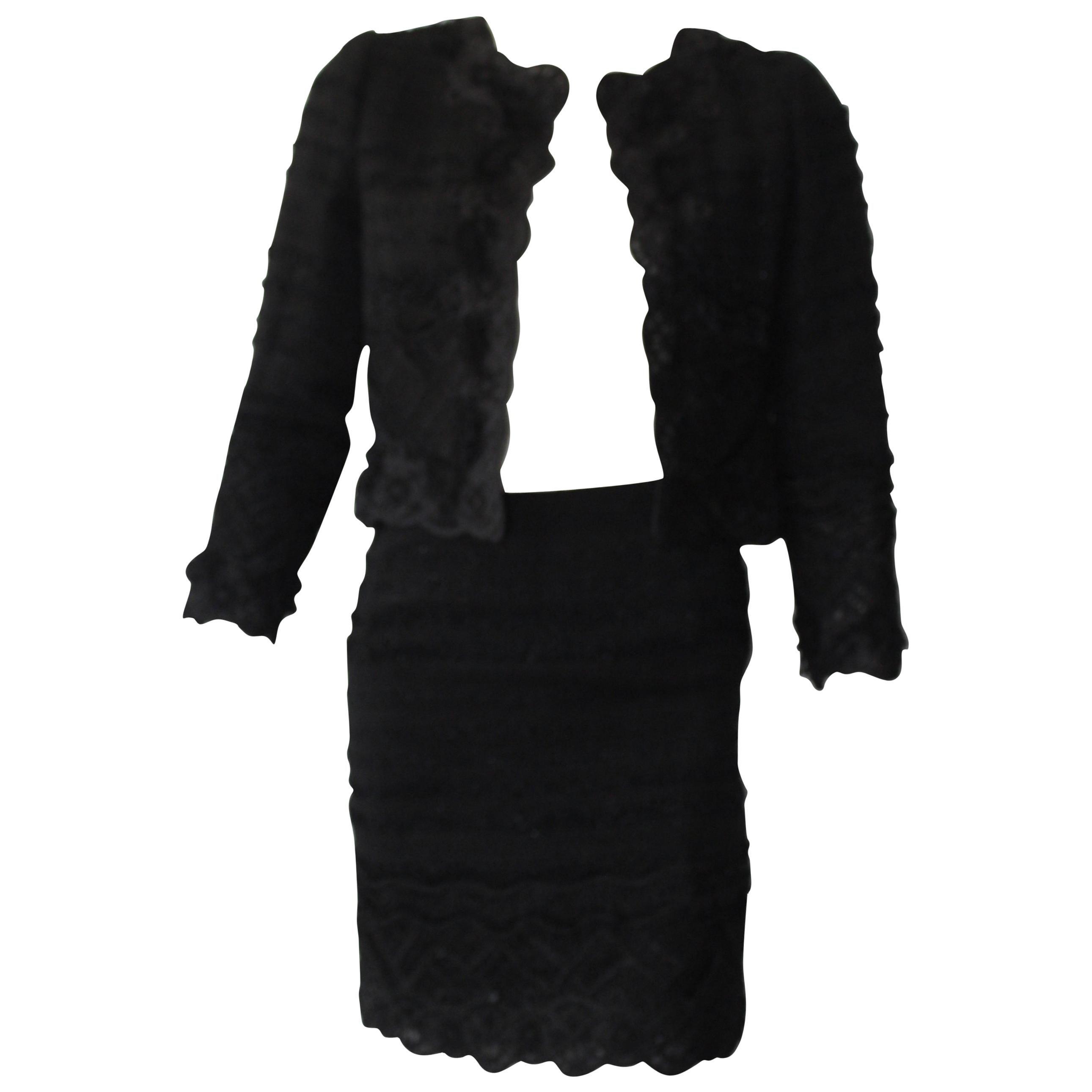 Oscar de la Renta Skirt Suit Ensemble