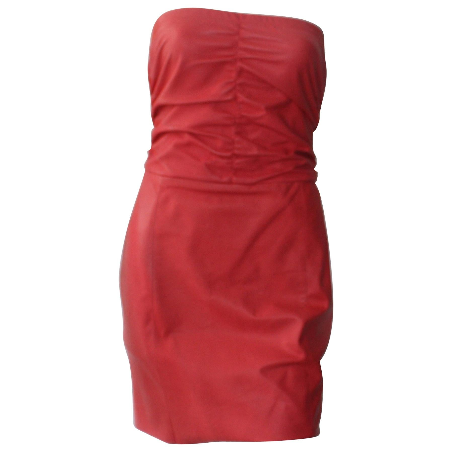 DROMe Strapless Pink Dress