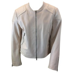 Rag & Bone Light Pink Leather Jacket