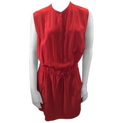 A.L.C. Red Silk Dress