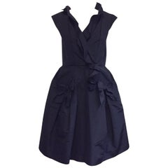 Oscar de la Renta Silk Ruffled Dress-Ultra Feminine!