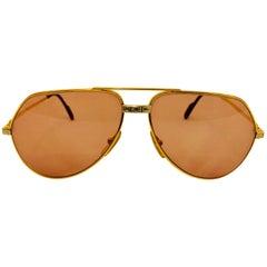 Cartier Vendome Santos Vintage Satin Sunglasses 62 14
