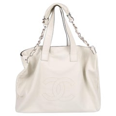 Chanel Shopper Bag - off-white
