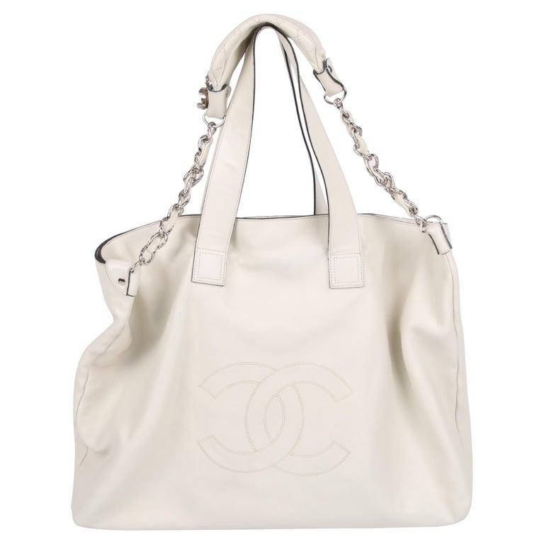 Chanel Shopper Bag - off-white For Sale