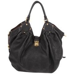 Louis Vuitton Mahina Bag Large - black