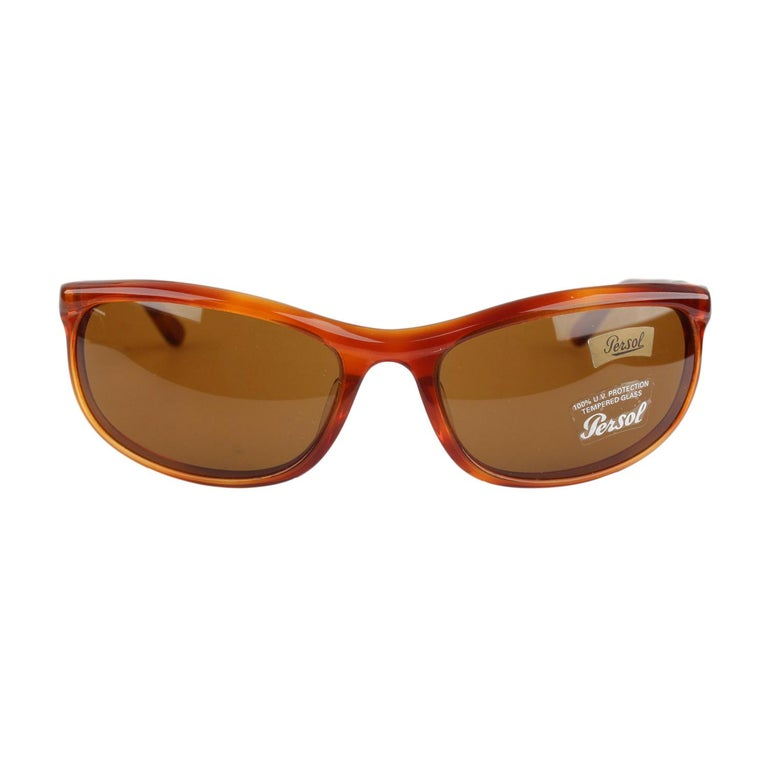 eeccb2683fcb0 Persol Ratti Vintage Brown Sunglasses 58230 Terminator New Old Stock For  Sale
