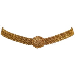 Chanel Haute Couture Collection Classic Golden Chain Belt