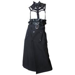"Comme des Garcons ""bad taste"" ruffle dress  2008"