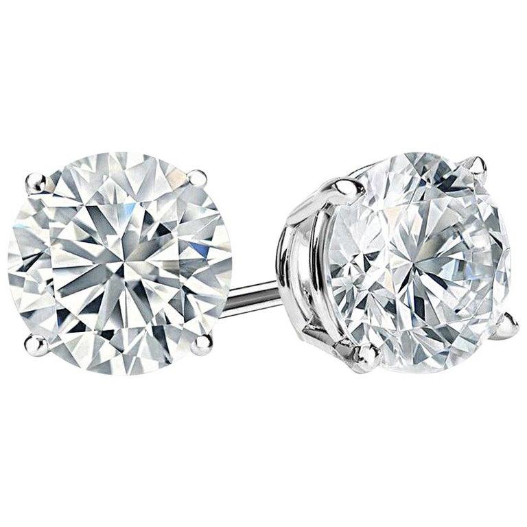 D Color Faux  Diamond Cubic Zirconia Studs For Sale