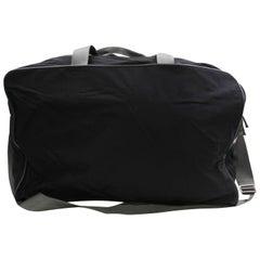 b86198570660 Prada Tessuto 2way Sports Luggage Duffle 868426 Black Nylon Weekend Travel  Bag