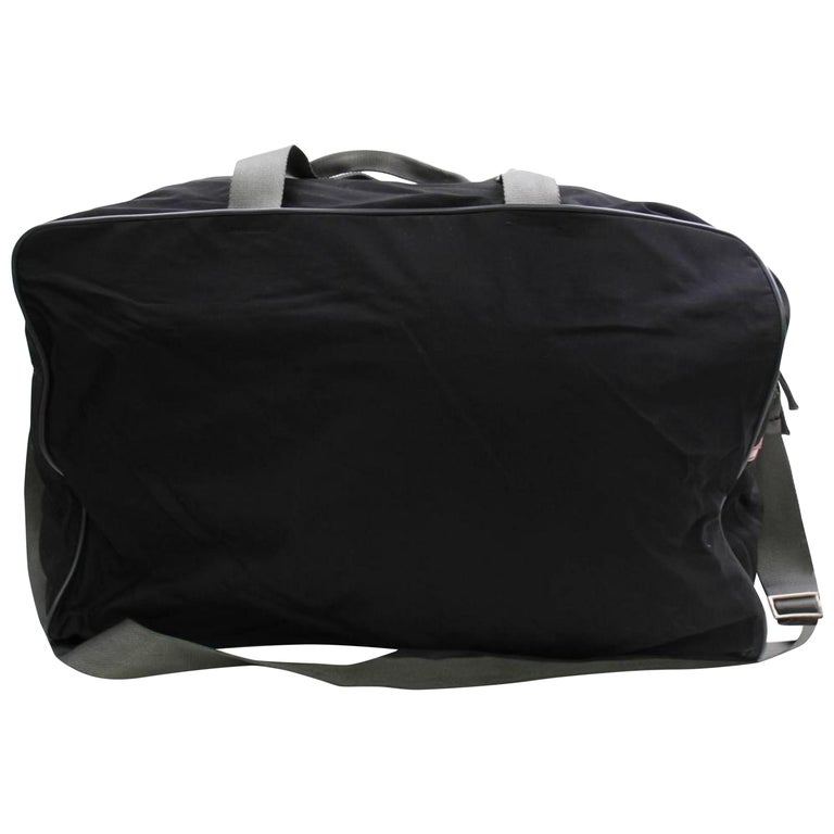 637228bbae307f Prada Tessuto 2way Sports Luggage Duffle 868426 Black Nylon Weekend/Travel  Bag For Sale
