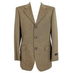 1990s Emanuel Ungaro Brown Wool Classic Jacket