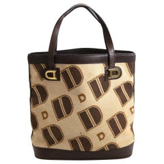 Delvaux Monogram Tote Bag