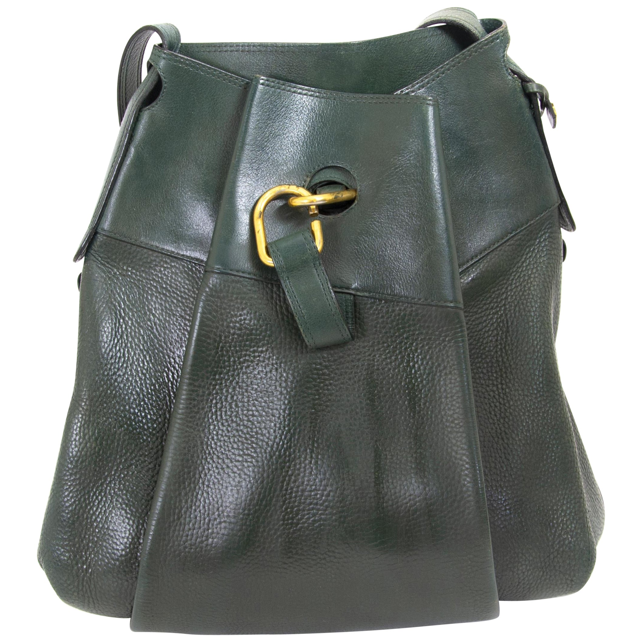 Delvaux Green Faust Bag