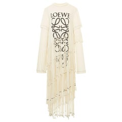 Loewe Fringe T-Shirt Dress