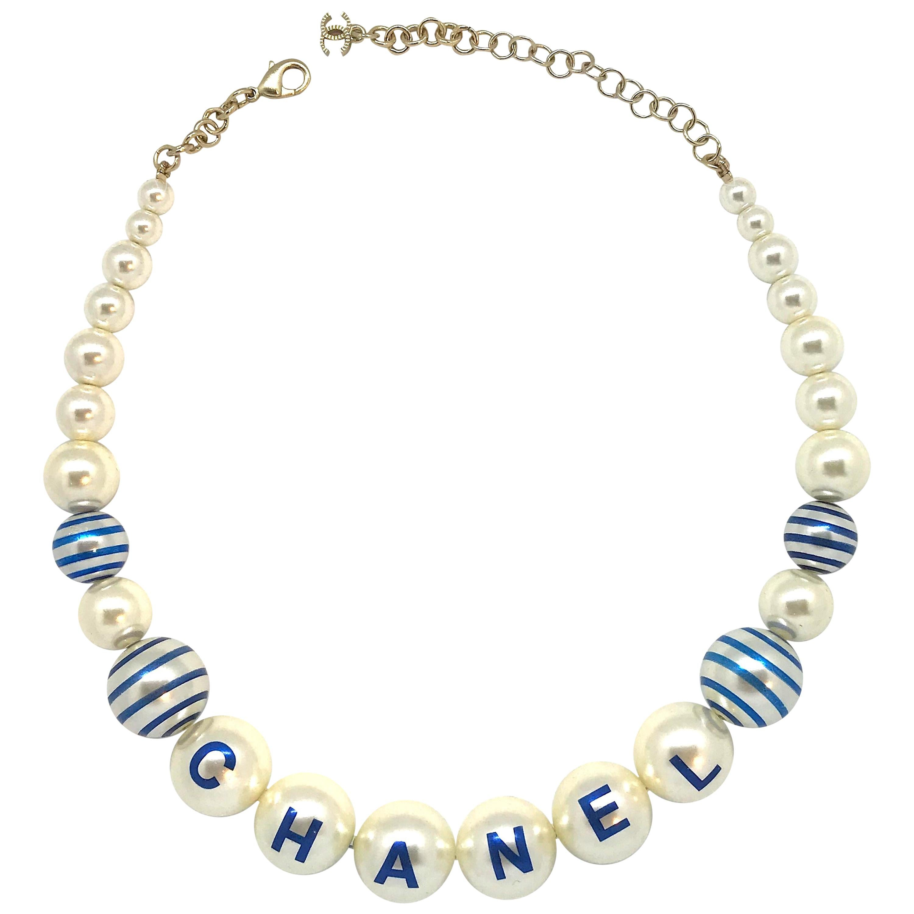ff4a5423aca37 Chanel Spring / Summer 2019 Pearl Necklace