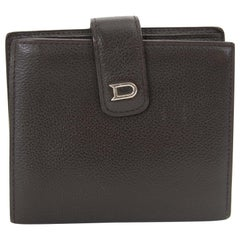 Delvaux Dark Brown Wallet