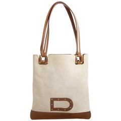 Delvaux Le Paul PM 'Toile Charleston' Tote Bag