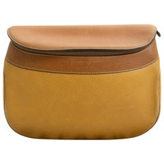 Delvaux Ochre Cross Body Bag