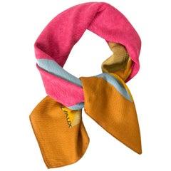 Delvaux Multicolor Cashmere Scarf