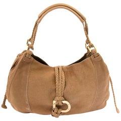 Delvaux Beige Ponyhair Colette GM Bag