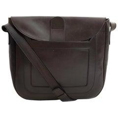 Delvaux Brown Shoulder Bag