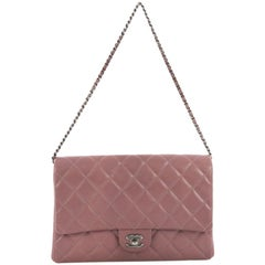 Chanel Clutch with Chain Quilted Caviar