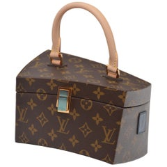 Rare Louis Vuitton. A Frank Gehry Iconoclast Twisted Box  Limited Edition  MINT