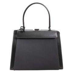 Delvaux Black Illusion Handbag