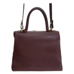 Delvaux Brillant Bordeaux MM GHW + Strap