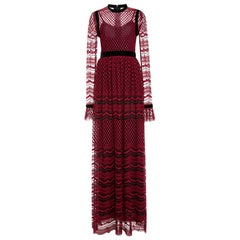 Philosophy di Lorenzo Serafini Embroidered Tulle Gown