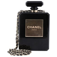 Chanel Perfume Bottle Minaudiere Plexiglass