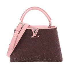Louis Vuitton Capucines Handbag Sequins BB