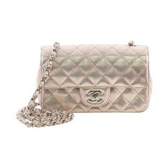 Chanel Classic Single Flap Bag Pixel Effect Quilted Calfskin Mini