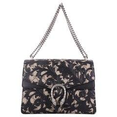 Gucci Dionysus Handbag Arabesque GG Coated Canvas Medium