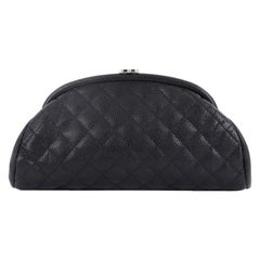 Chanel Timeless Clutch Quilted Caviar